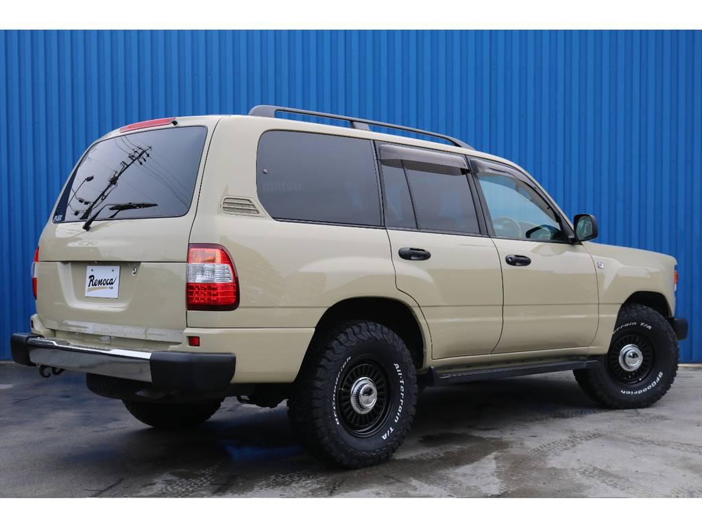 | トヨタ ランドクルーザー100 4.7 VXリミテッド 4WD 後期型 Renoca106  丸目