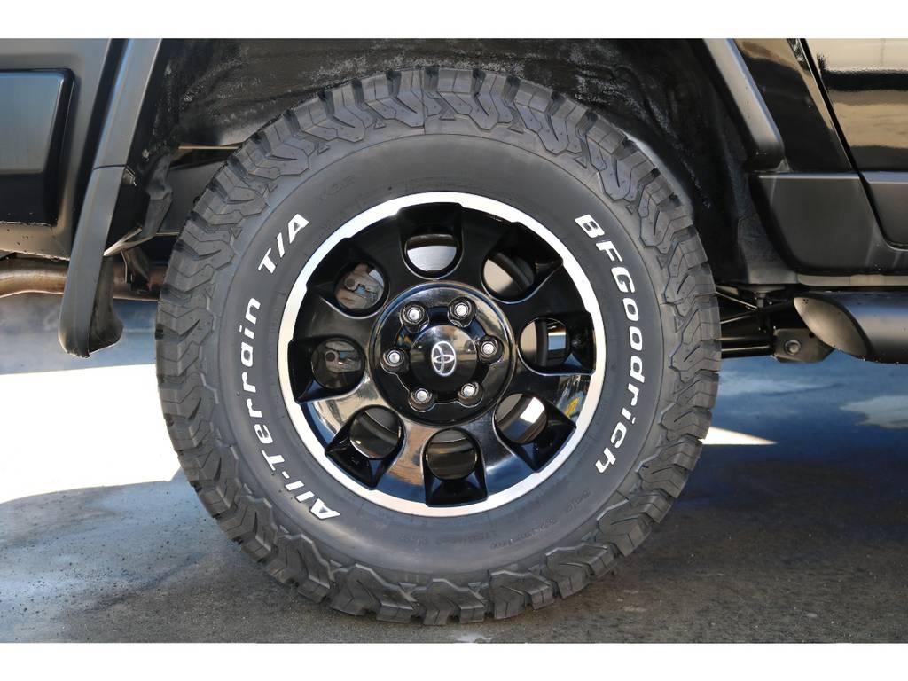 お近くにお越しの際は是非、フレックス浜松店にお越し下さい。スタッフ一同心よりお待ちしております。 | トヨタ FJクルーザー 4.0 ブラックカラーパッケージ 4WD ワンオーナー 新品2インチリフトUP