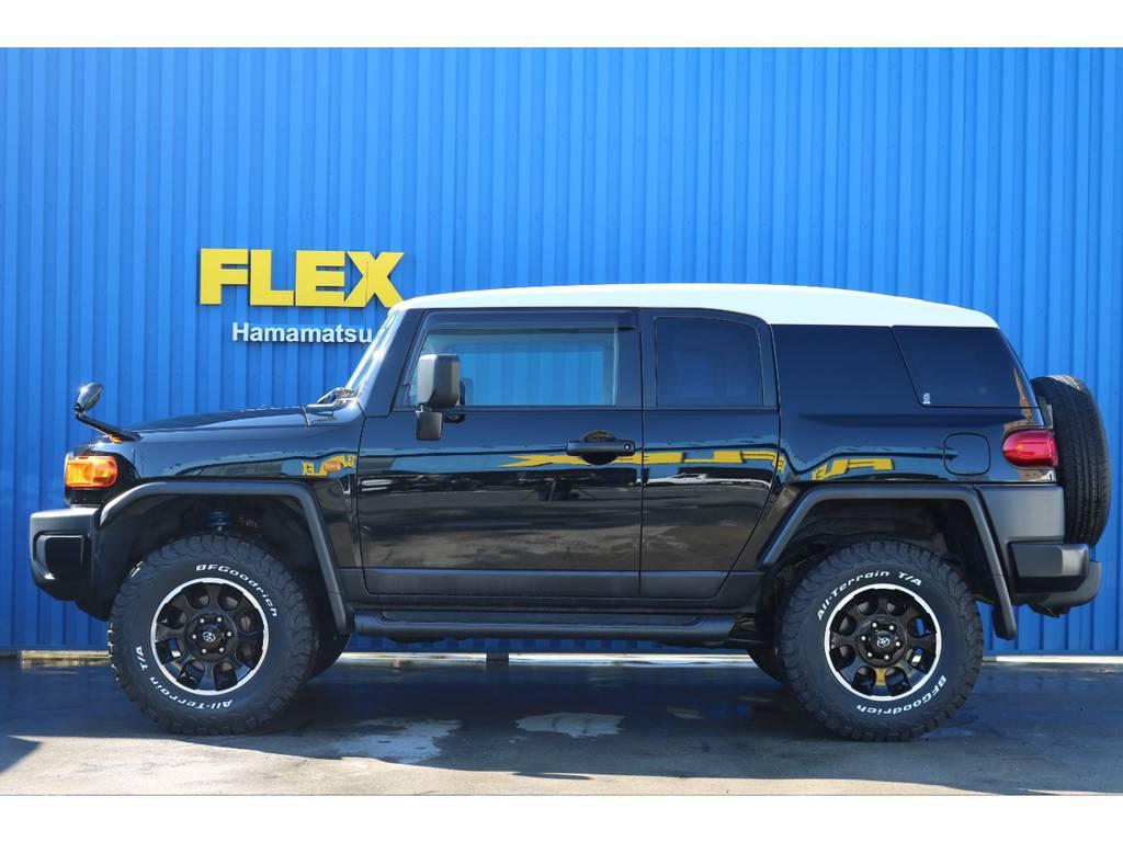 北海道から沖縄まで全国何処でも登録納車可能です。 | トヨタ FJクルーザー 4.0 ブラックカラーパッケージ 4WD ワンオーナー 新品2インチリフトUP