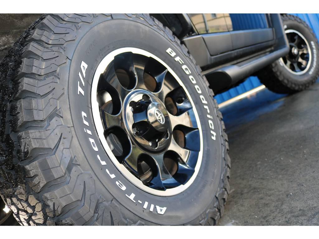 新品BFグッドリッチ285タイヤ。 | トヨタ FJクルーザー 4.0 ブラックカラーパッケージ 4WD ワンオーナー 新品2インチリフトUP