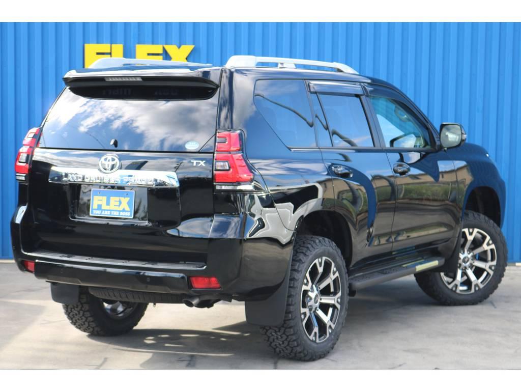 こんなお車だったらきっと通勤も楽しくなります! | トヨタ ランドクルーザープラド 2.7 TX 4WD 7人 新車未登録 2インチリフトUP