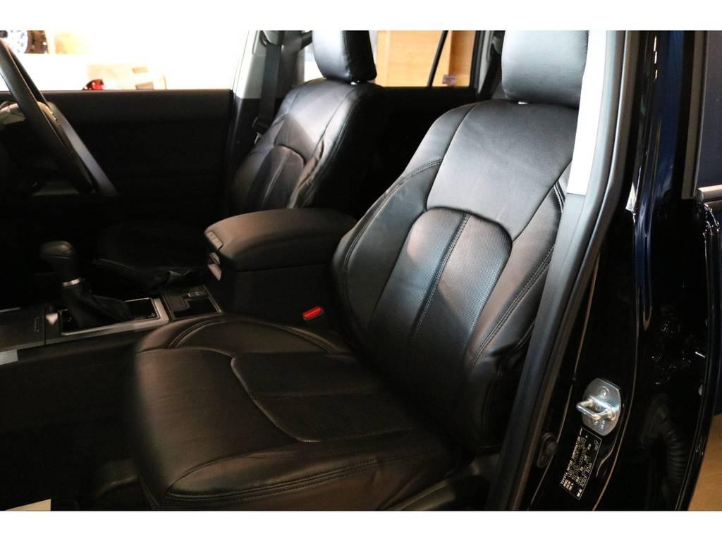 新品ブラックシートカバーで高級感が出ました。 | トヨタ ランドクルーザープラド 2.7 TX 4WD 7人 新車未登録 2インチリフトUP