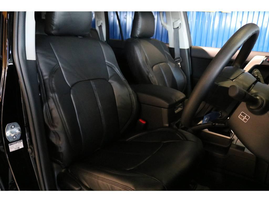2インチリフトUPした車内からの眺めも良いです。 | トヨタ ランドクルーザープラド 2.7 TX 4WD 7人 新車未登録 2インチリフトUP