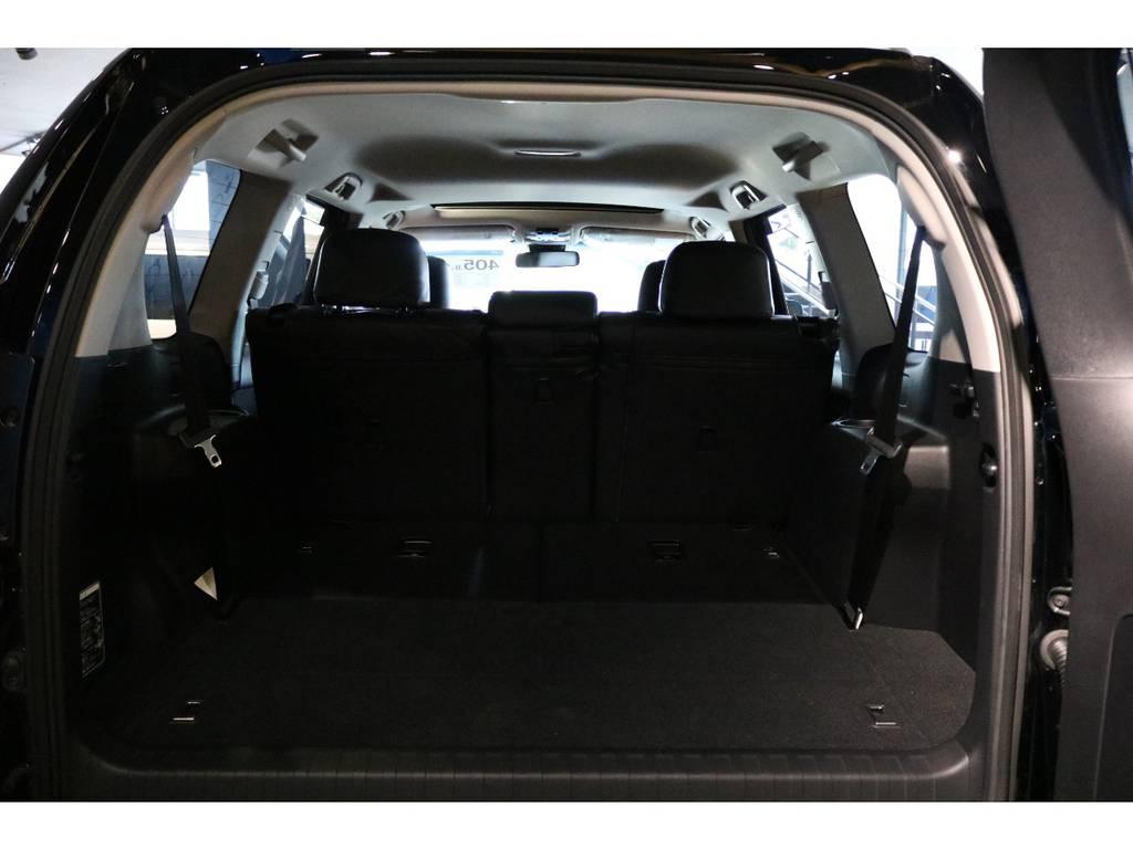 3rdシート付き7人乗りです。 | トヨタ ランドクルーザープラド 2.7 TX 4WD 7人 新車未登録 2インチリフトUP