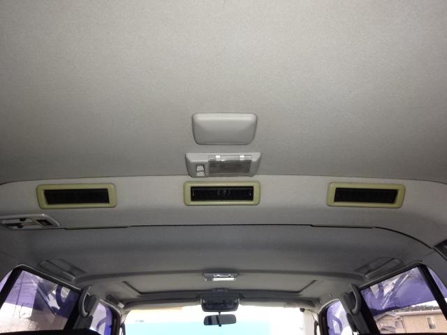 天張りの状態も文句なしですね! | トヨタ ランドクルーザー80 4.5 VXリミテッド 4WD 角目四灯 ブラックNEWペイント