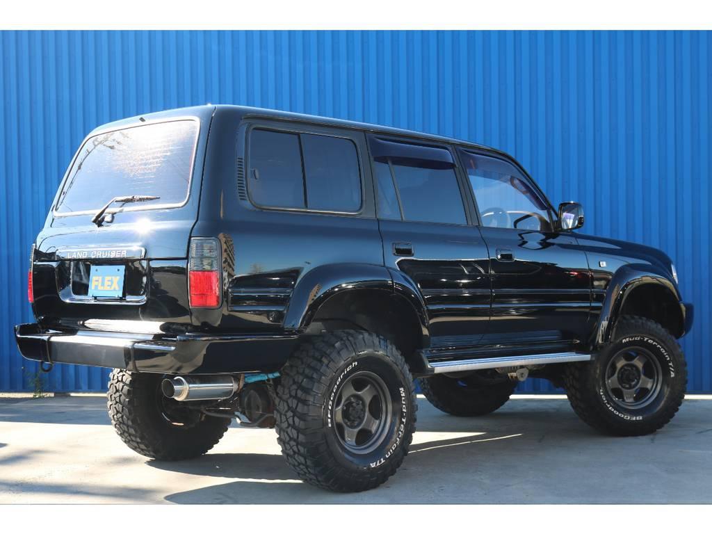 | トヨタ ランドクルーザー80 4.5 VXリミテッド 4WD 角目四灯 ブラックNEWペイント