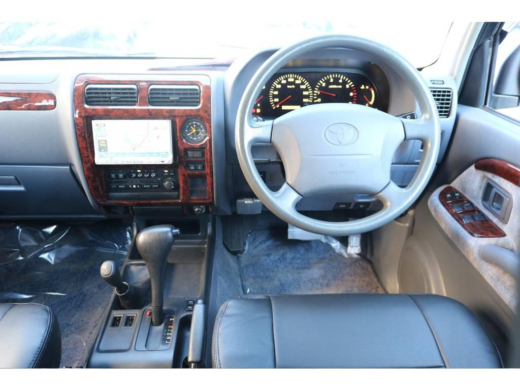 新品ブラックシートカバー付き!! | トヨタ ランドクルーザープラド 2.7 TX リミテッド 4WD 丸目換装 クラシックコンプリート