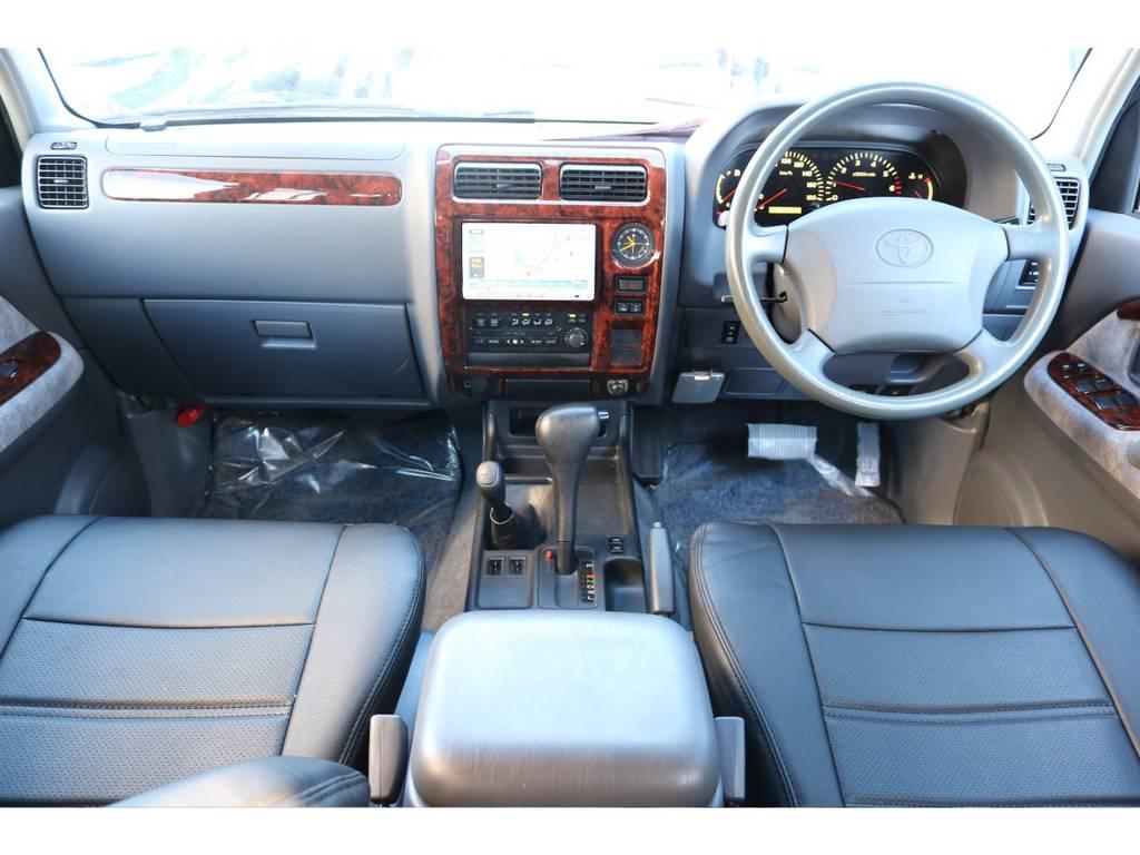 余分な機能もなく、操作も楽々です! | トヨタ ランドクルーザープラド 2.7 TX リミテッド 4WD 丸目換装 クラシックコンプリート