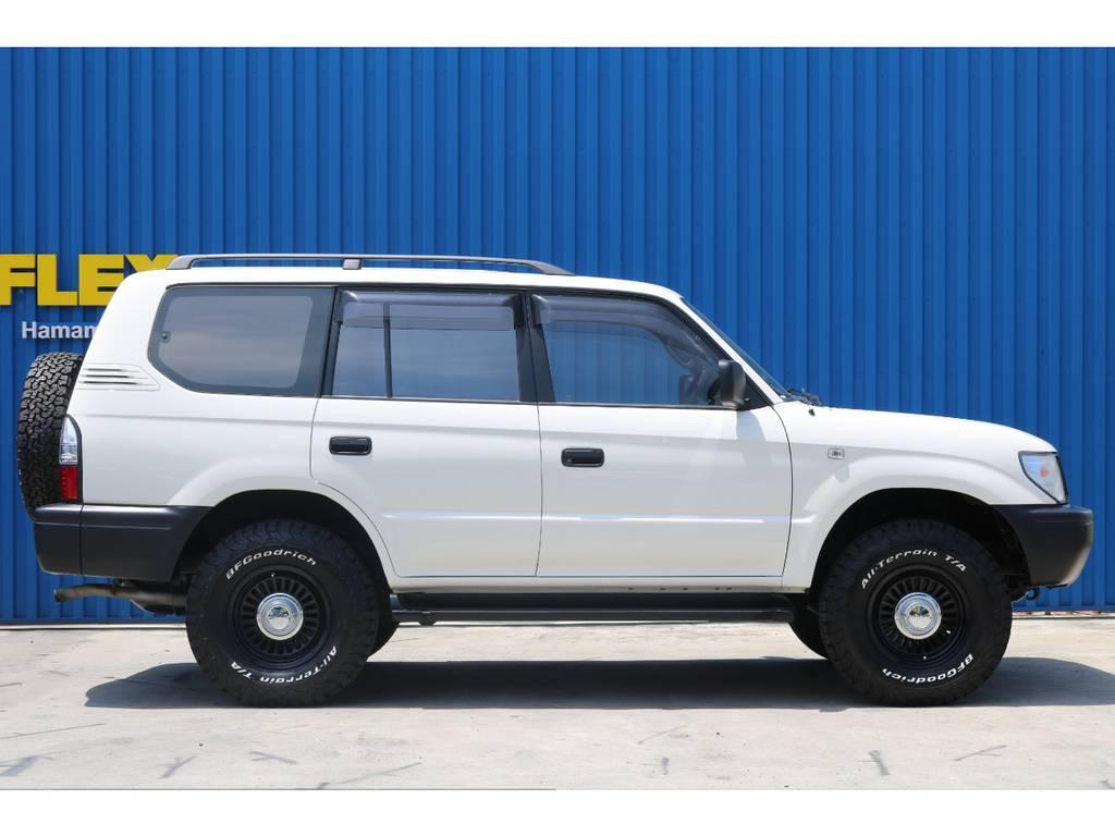 追加カスタムもお任せ下さい。 | トヨタ ランドクルーザープラド 2.7 TX リミテッド 4WD 丸目換装 クラシックコンプリート