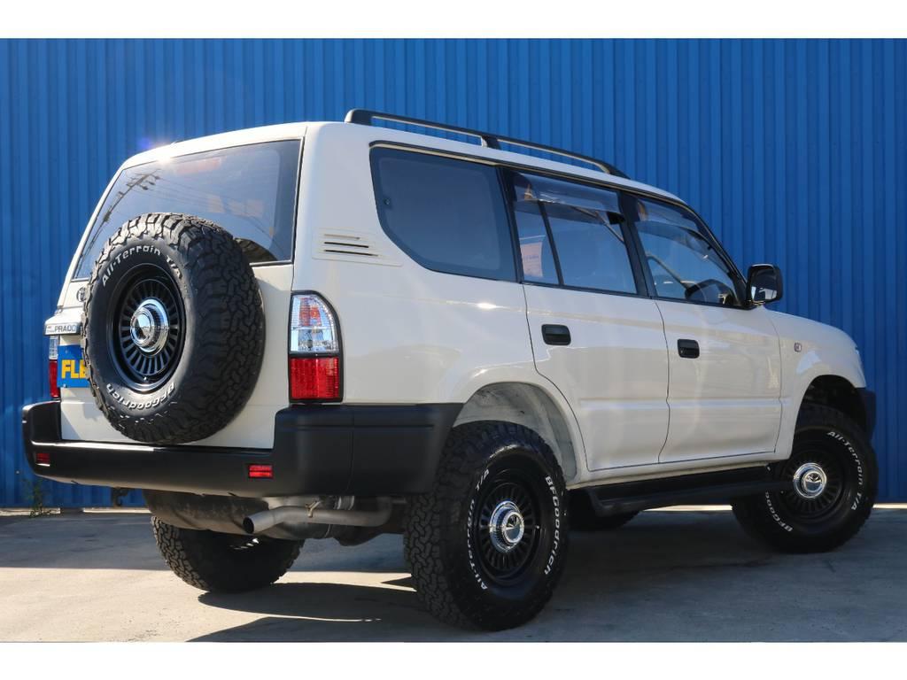 新品LEDテール付き。 | トヨタ ランドクルーザープラド 2.7 TX リミテッド 4WD 丸目換装 クラシックコンプリート