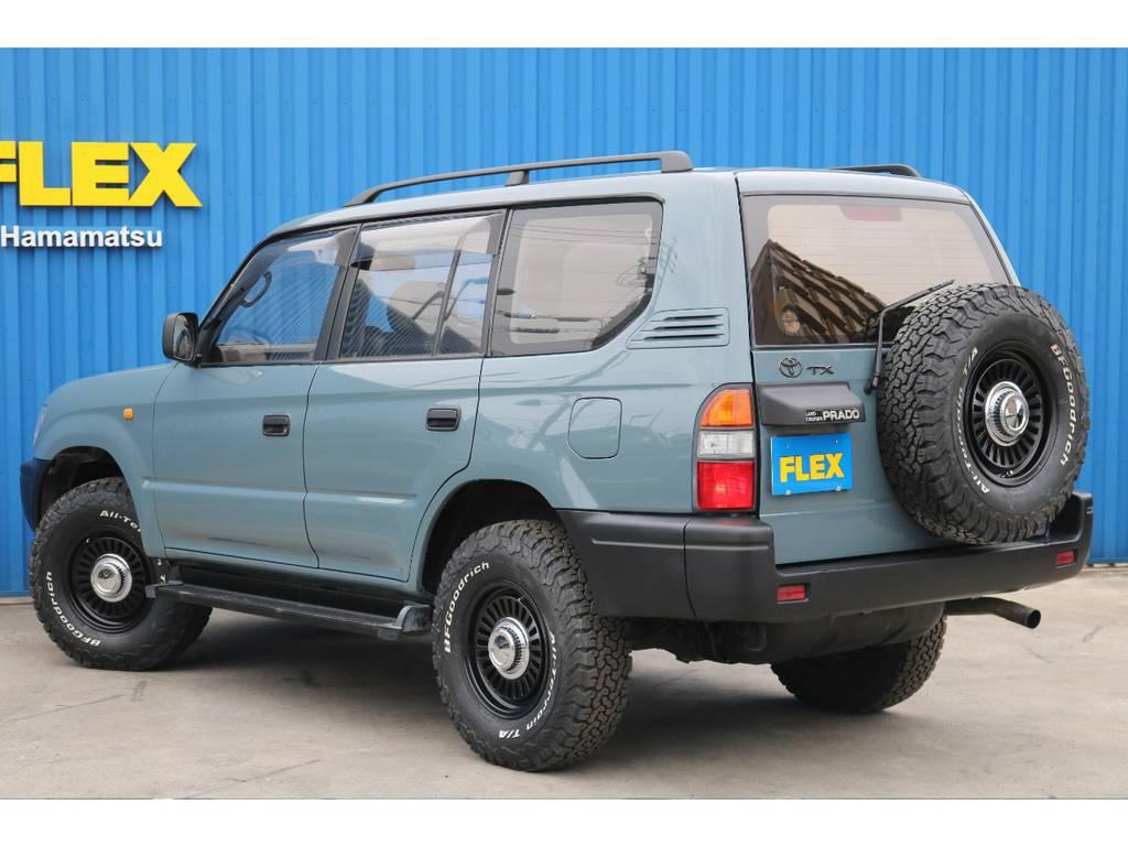 JEEP純正のアンヴィルでとってもオシャレに仕上がっております! | トヨタ ランドクルーザープラド 3.0 TX ディーゼルターボ 4WD 低走行8万km