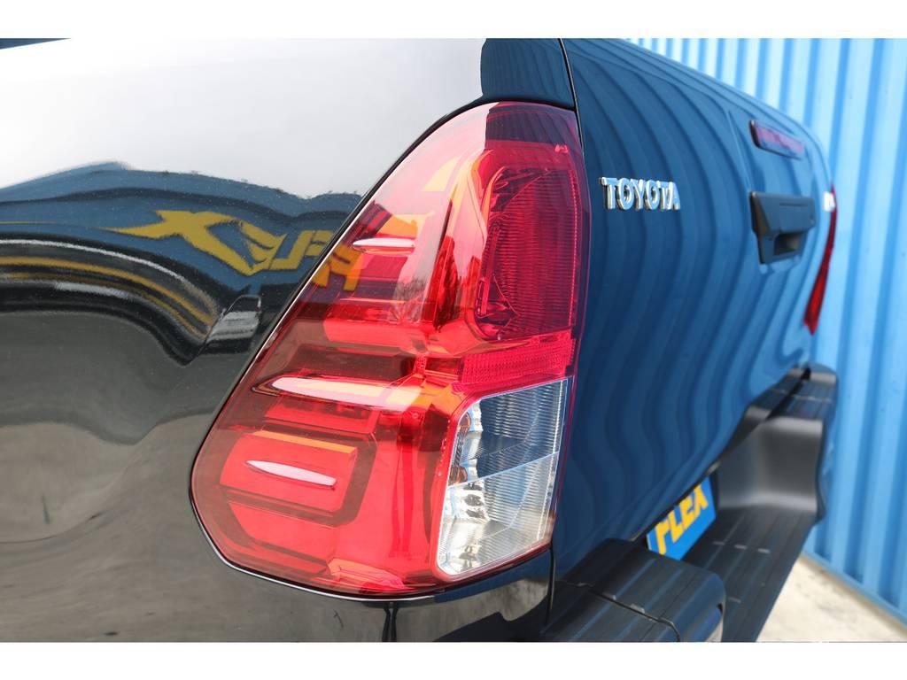 テールもカッコイイですね。 | トヨタ ハイラックス 2.4 Z ブラック ラリー エディション ディーゼルターボ 4WD 新車未登録 即納車可能