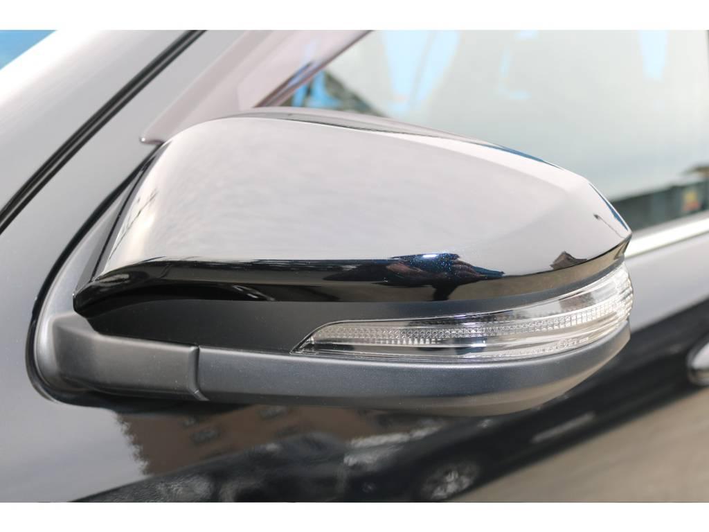 ウィンカーミラーが付いているだけで前からの見た目がとっても変わりますね! | トヨタ ハイラックス 2.4 Z ブラック ラリー エディション ディーゼルターボ 4WD 新車未登録 即納車可能