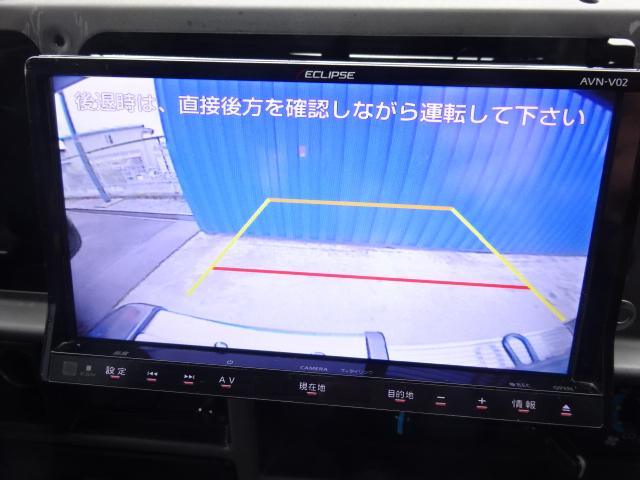 バックカメラ付きで駐車も楽々ですね! | トヨタ ランドクルーザープラド 3.0 SXワイド アクティブバケーションII ディーゼルターボ 4WD 新品2インチリフトUP