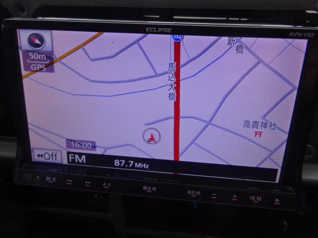 カーナビ付きですのでどこへでも行けますね! | トヨタ ランドクルーザープラド 3.0 SXワイド アクティブバケーションII ディーゼルターボ 4WD 新品2インチリフトUP