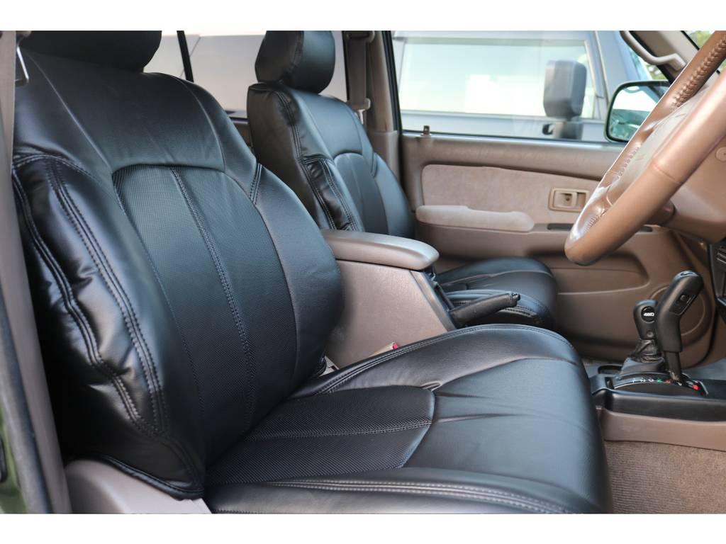 内装に若干の傷はありますが、年式の割には程度良好!もちろん車内清掃済みです!   トヨタ ハイラックスサーフ 2.7 SSR-G 4WD ディーゼルグリーンNEWペイント