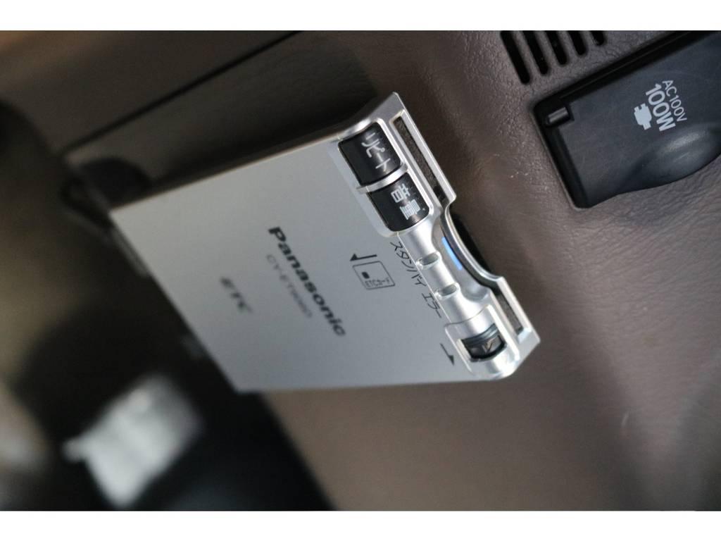 ETC装備済みで高速もらくらくドライブ!最新式ETC2.0のインストールも是非お任せください!   トヨタ ハイラックスサーフ 2.7 SSR-G 4WD ディーゼルグリーンNEWペイント