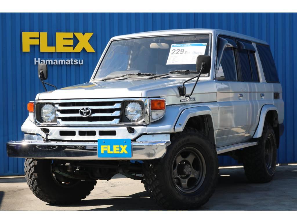 ランクル77ZX・2インチリフトUP!! | トヨタ ランドクルーザー70 4.2 ZX ディーゼル 4WD 2インチリフトアップ