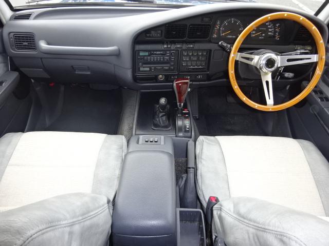  トヨタ ランドクルーザー80 4.5 VXリミテッド 4WD アルルブルーオールP 60丸目換装