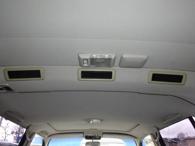 天張りもご覧の通りキレイな状態です。 | トヨタ ランドクルーザー80 4.5 VXリミテッド 4WD アルルブルーオールP 60丸目換装