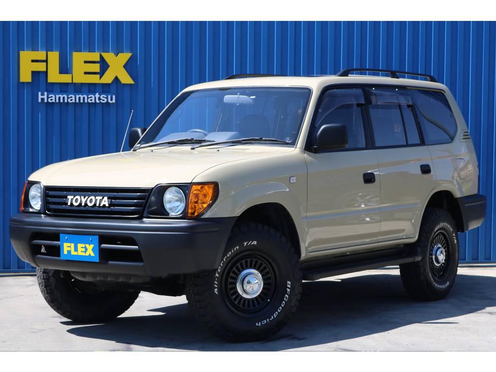 ランクル95プラドTX-LTDベージュNEWペイント!! | トヨタ ランドクルーザープラド 2.7 TX リミテッド 4WD ベージュNEWペイント