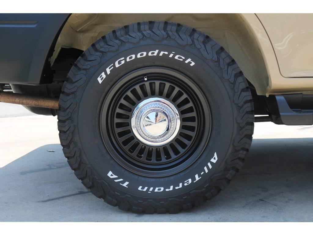 中古ではなく新品タイヤ、新品ホイールです!安心してお乗り頂けます!