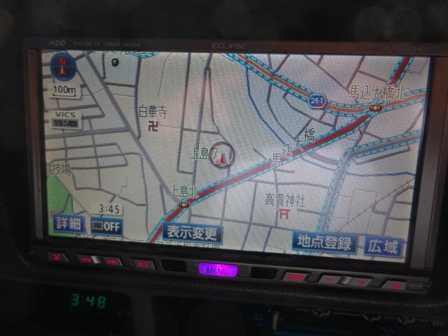 ECLIPSE、HDDナビ付き!!もちろん最新のナビの取り付けも可能です。 | トヨタ ランドクルーザープラド 3.0 SXワイド ディーゼルターボ 4WD ブラックオールP 新品2インチリフトUP