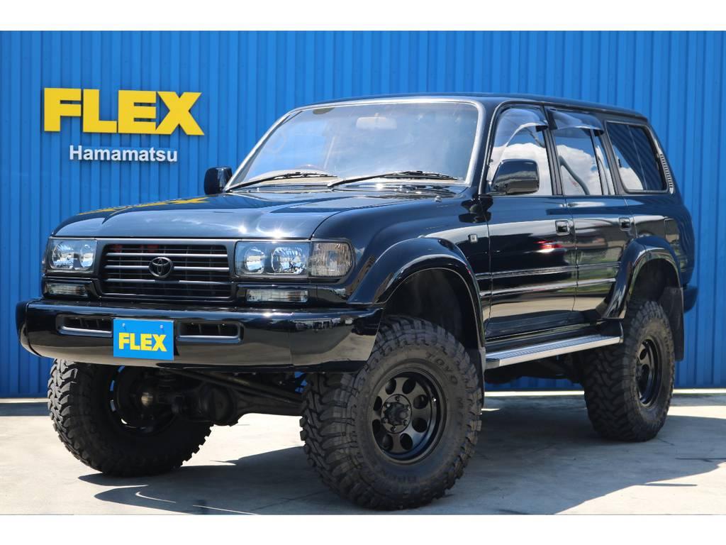 ランクル80VX-LTD、ブラックオールP、5インチリフトUP!!