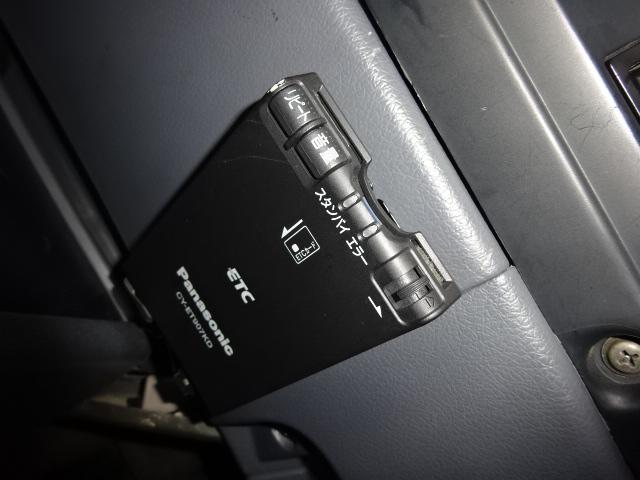 便利なETC付き。 | トヨタ ランドクルーザー80 4.5 VXリミテッド アクティブバケーション 4WD ブラックオールP 3インチリフトUP