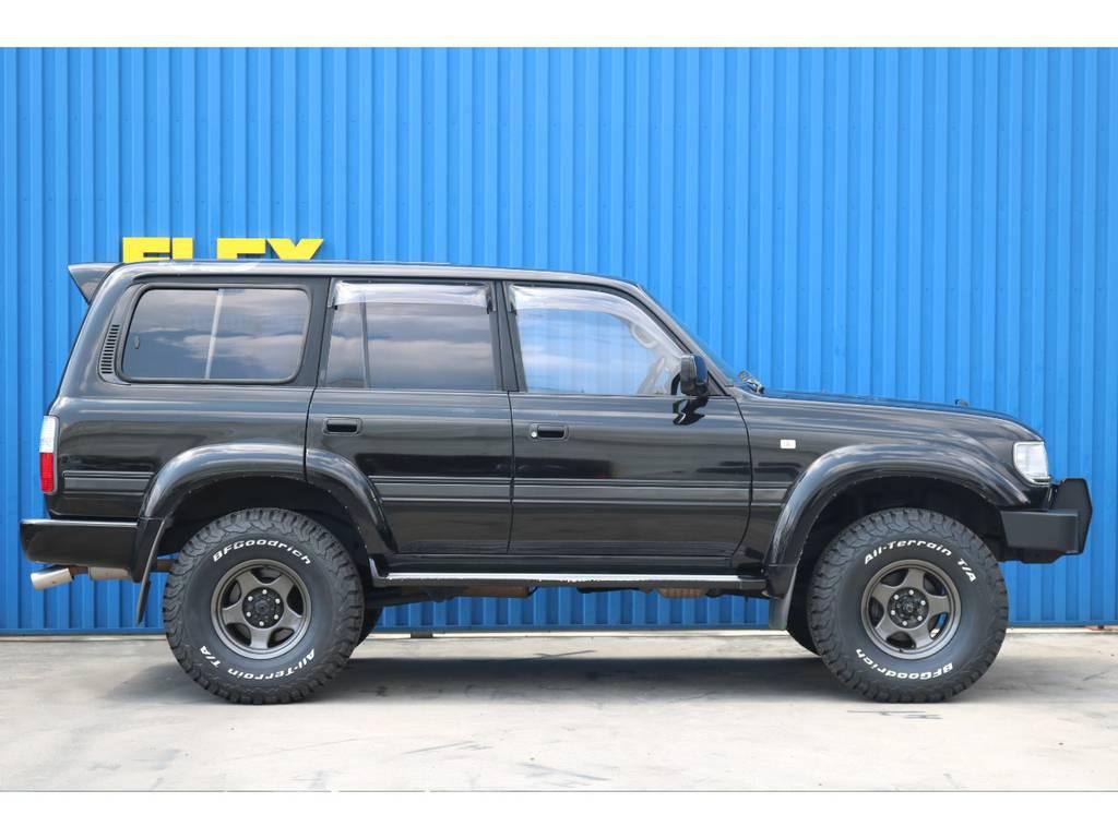 新品BFグッドリッチタイヤ!! | トヨタ ランドクルーザー80 4.5 VXリミテッド アクティブバケーション 4WD ブラックオールP 3インチリフトUP
