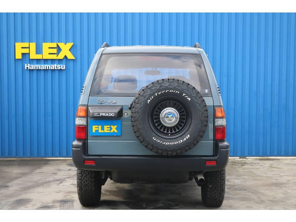 背面タイヤまで5本新品にて交換しております。