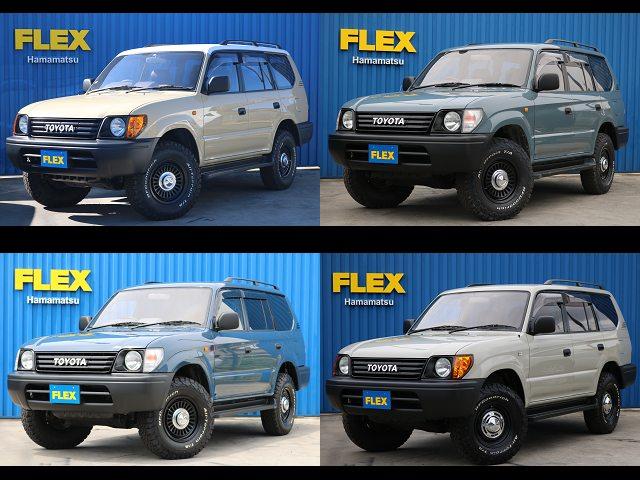 95プラドTX-LTD!!低走行7万km・2700ccガソリン車!!※今ならお好きな仕様でお作り致します。