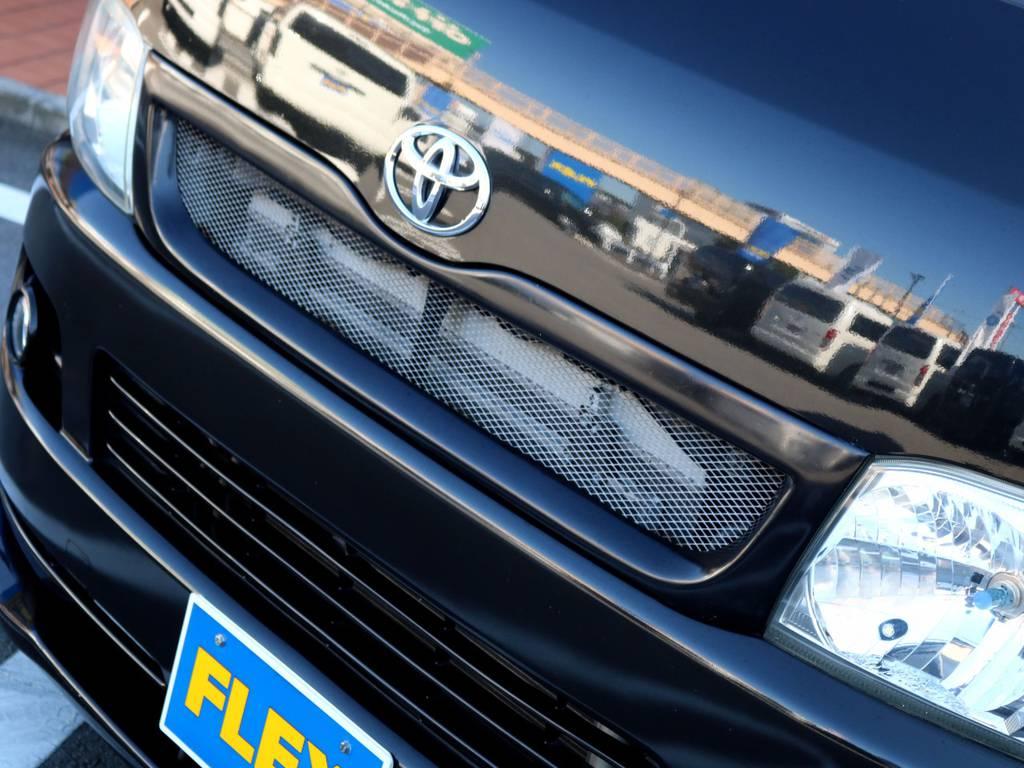 社外メッシュグリル装備!! | トヨタ レジアスエース 3.0 スーパーGL ロングボディ ディーゼルターボ 4WD