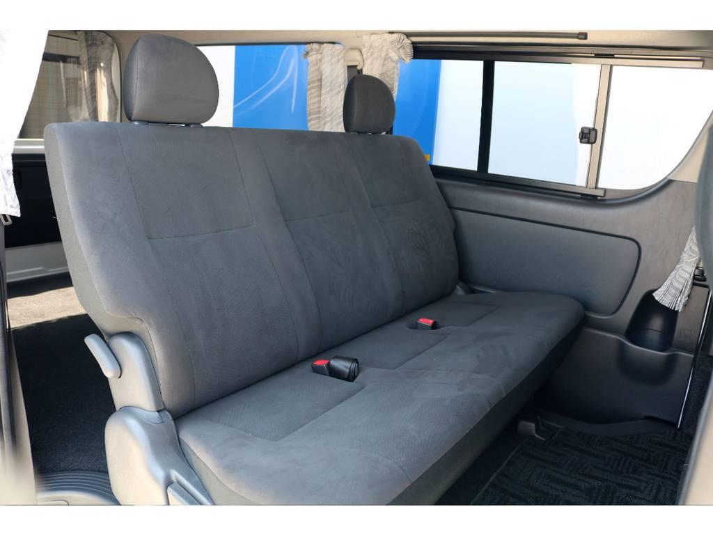 高級感のあるシートになっております!! | トヨタ レジアスエース 3.0 スーパーGL プライムセレクション ロングボディ ディーゼルターボ 4WD