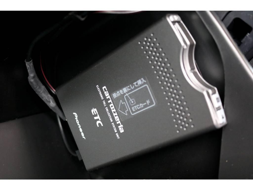 もちろんETCも完備!! | トヨタ レジアスエース 3.0 スーパーGL プライムセレクション ロングボディ ディーゼルターボ 4WD