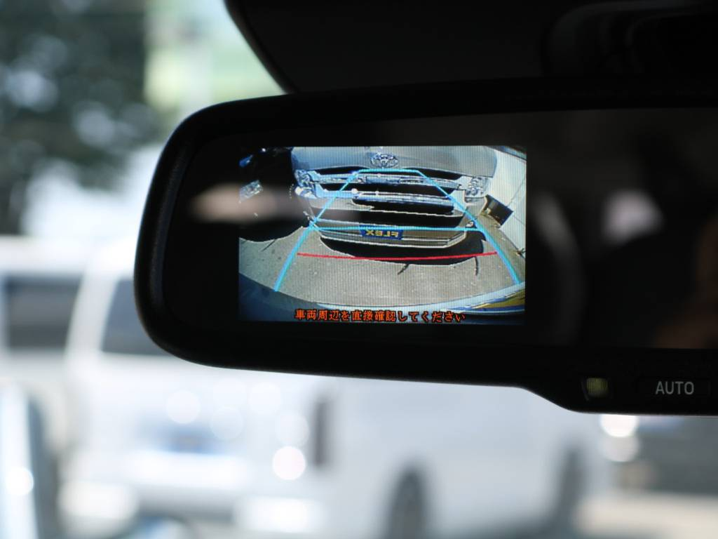 バックカメラ付き自動防眩インナーミラー♪   トヨタ ハイエースコミューター 2.8 GL ディーゼルターボ 3NO 10人乗りワゴン