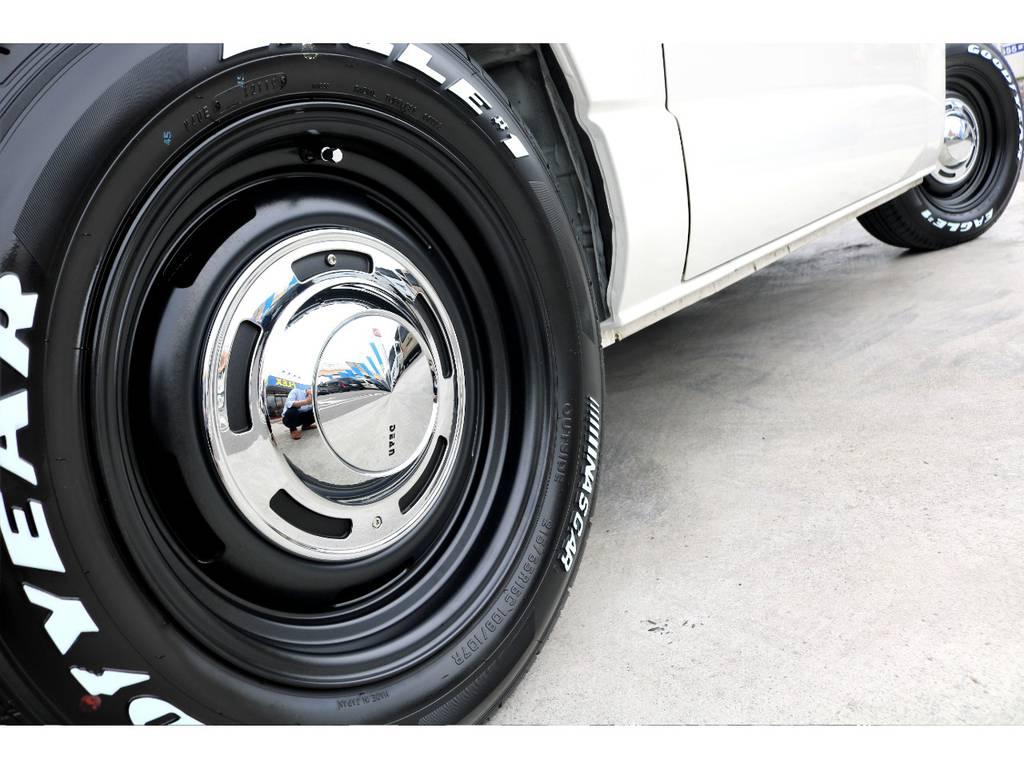 DEENクロスカントリー16inchを装着!クラッシックホイールといえば、こちらのホイールがキマリます! | トヨタ ハイエースバン 3.0 スーパーGL ロング ディーゼルターボ 4WD