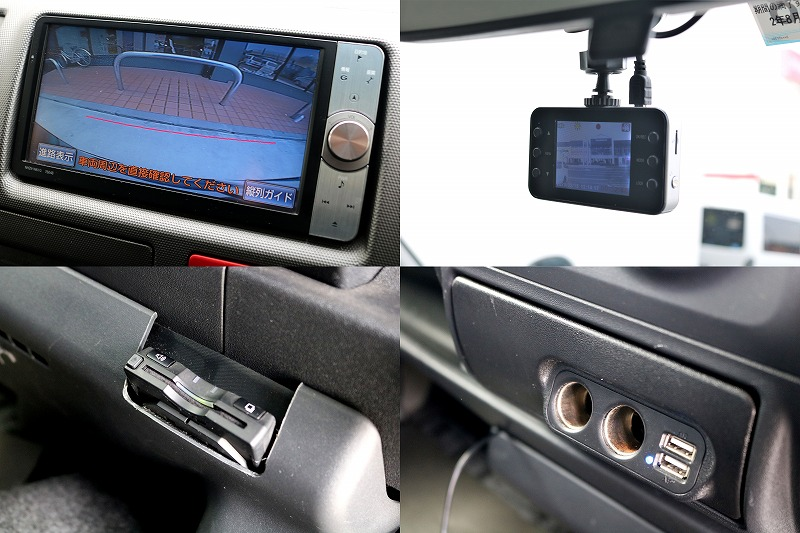 純正HDDナビ、ETC、バックカメラを搭載!!ドラレコやUSBポートも付いております!!