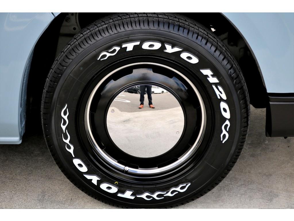 足元にはガルシア シスコ 16インチアルミにTOYO H20タイヤをチョイス!!