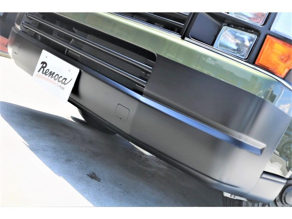バンパーはマットブラック塗装済み!!