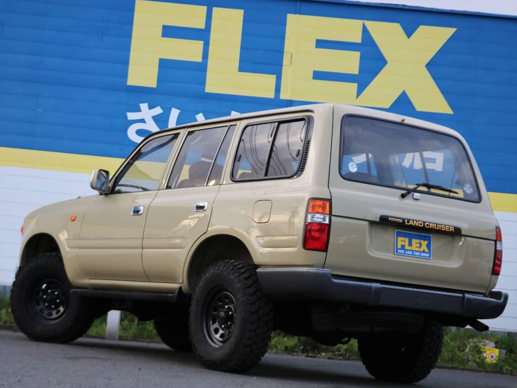 掲載されているお写真や情報だけではお分かり頂けないことはありませんか!?どんな些細なことでも、この車両を詳しく把握している、ランクル専任担当の鈴木・東海までお気軽にお問い合わせください(^^♪ | トヨタ ランドクルーザー80 4.5 VXリミテッド 4WD FLEX Renoca
