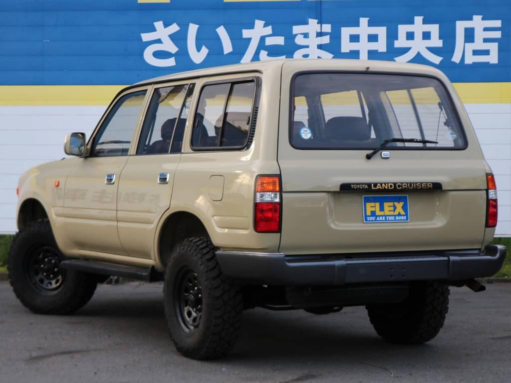 このスタイルにグッと来た方、ご連絡お待ちしております(^^)/ | トヨタ ランドクルーザー80 4.5 VXリミテッド 4WD FLEX Renoca