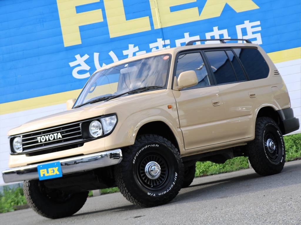 | トヨタ ランドクルーザープラド 3.4 TZ 4WD Renoca アメリカンクラシック