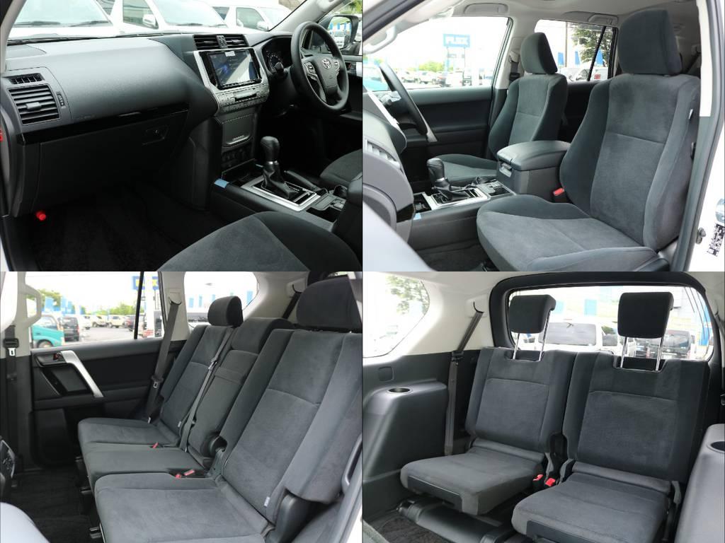 | トヨタ ランドクルーザープラド 2.8 TX ディーゼルターボ 4WD 7人乗り ALPINE大画面9インチナビ