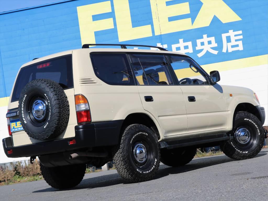 人気車種により即売れが予想されますので是非お問い合わせください。もちろんオーダーでのお作りも可能です! | トヨタ ランドクルーザープラド 2.7 TX リミテッド 4WD