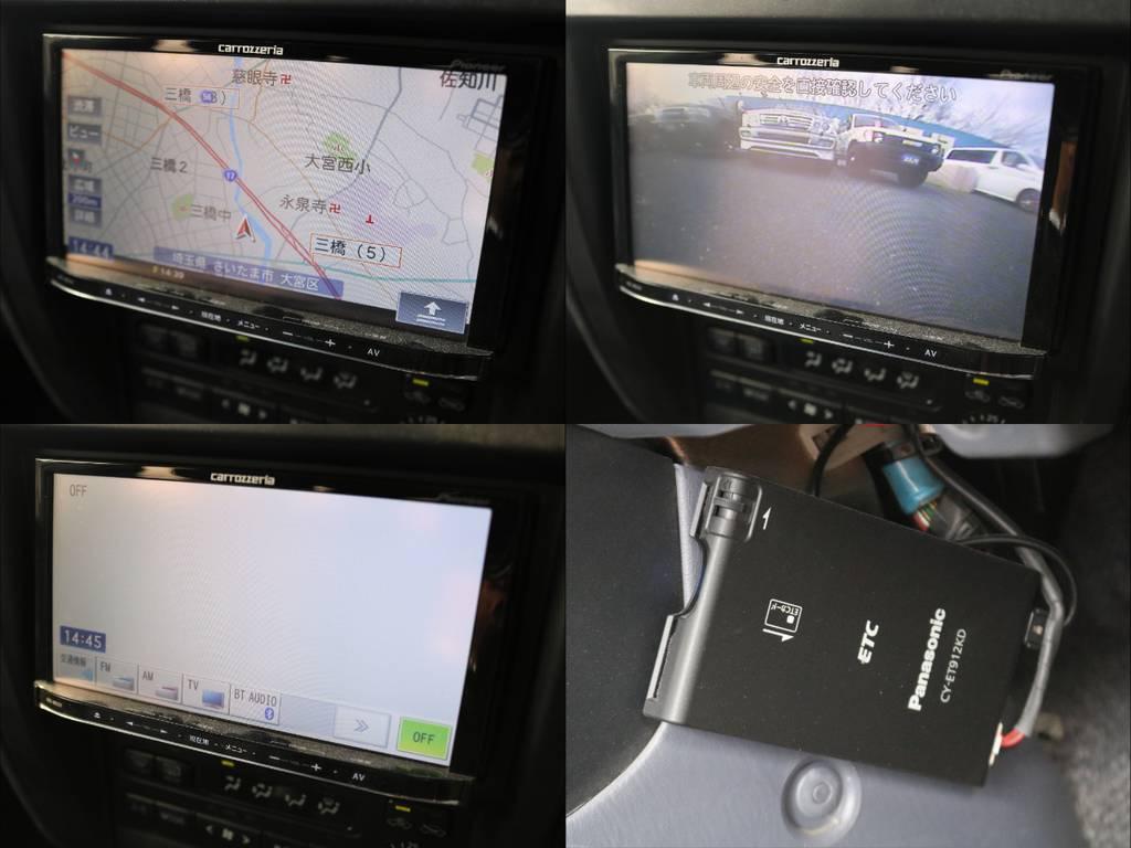 カロッツェリアナビ・ETC装備済み♪ | トヨタ ランドクルーザープラド 2.7 TX リミテッド 4WD
