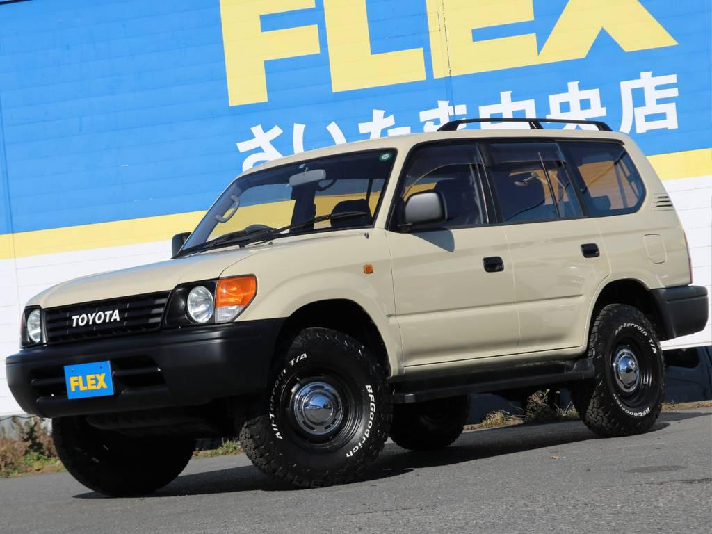 ランクルを所有しているスタッフも在籍しております。普段使いのメリットデメリットなど・・・オーナー目線でお話しさせていただきます。 | トヨタ ランドクルーザープラド 2.7 TX リミテッド 4WD