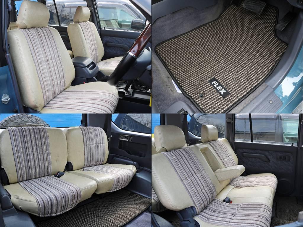 プロのルームクリーニング施工済みです。出来る限り汚れや臭いを落としていますので安心してお乗り頂けます。 | トヨタ ランドクルーザープラド 3.4 TZ 4WD サンルーフ Wエアコン タイベル換済