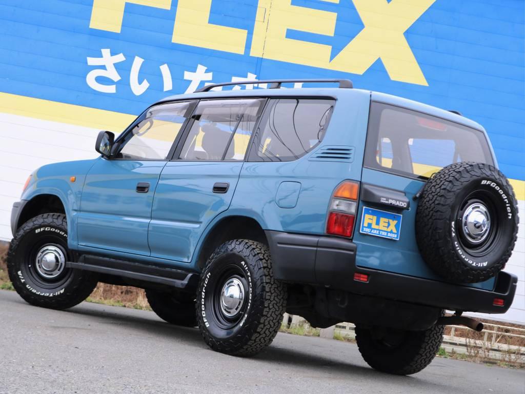 人気車種により即売れが予想されますので是非お問い合わせください。もちろんオーダーでのお作りも可能です! | トヨタ ランドクルーザープラド 3.4 TZ 4WD サンルーフ Wエアコン タイベル換済