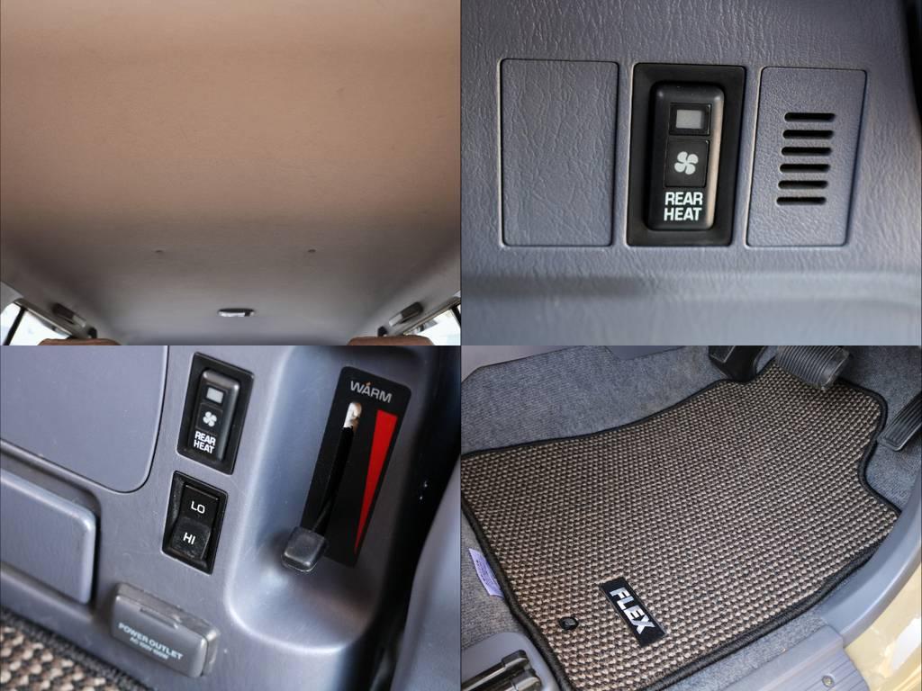 新品オリジナルフロアマット。車体のベージュとの相性も◎ | トヨタ ランドクルーザープラド 2.7 TX リミテッド 4WD